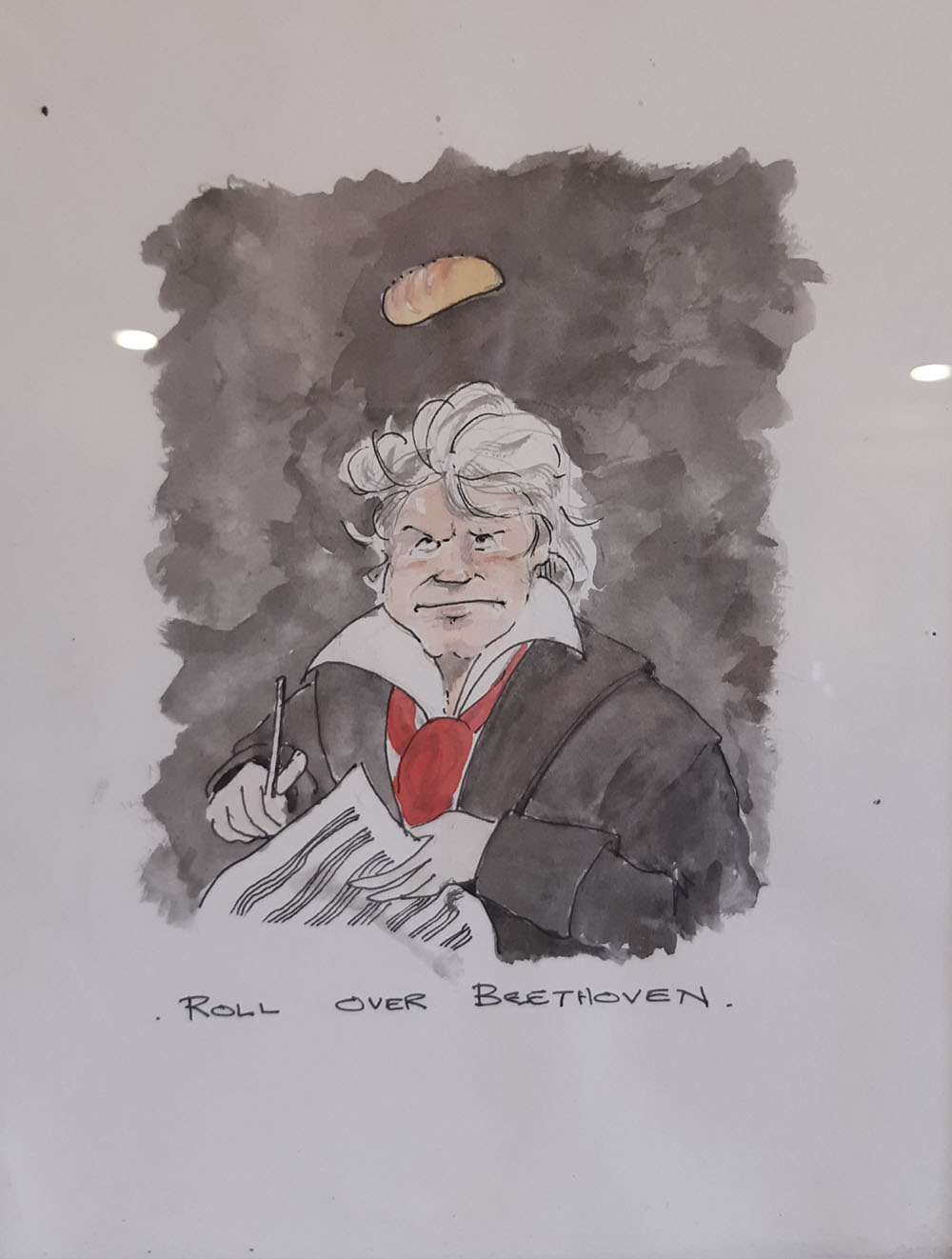 Roll Over Beethoven by Alec Dickson