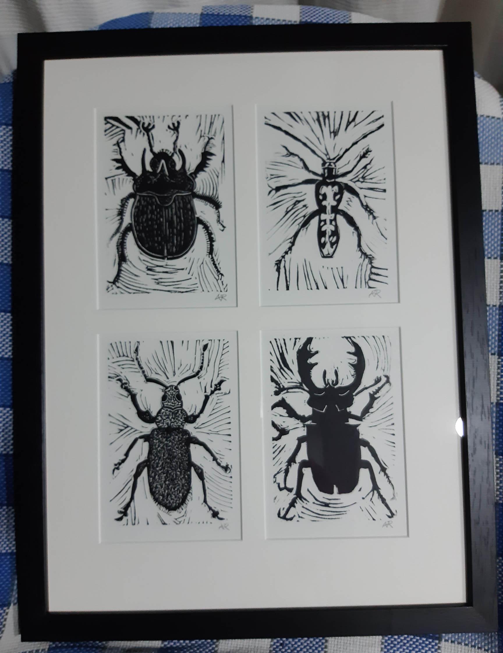 Bug Life framed