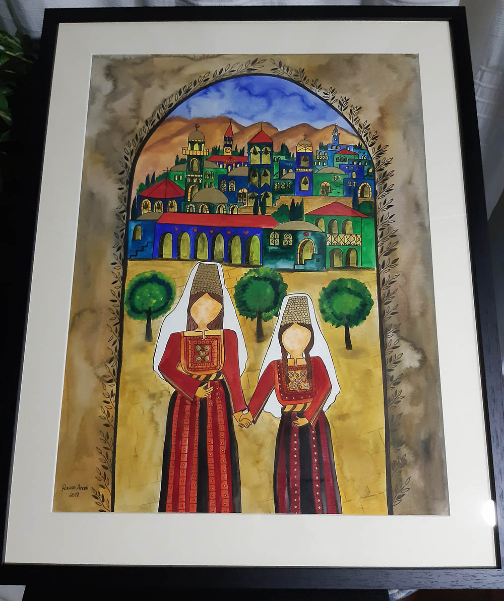 Women of Bethlehem Framed